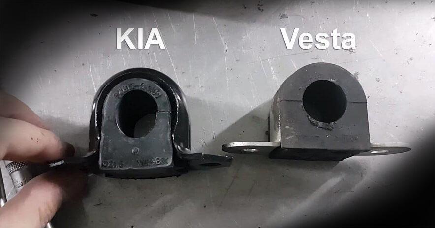 Втулки для Kia и Лада Веста