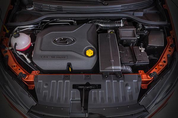 Мотор седана Lada Vesta Cross